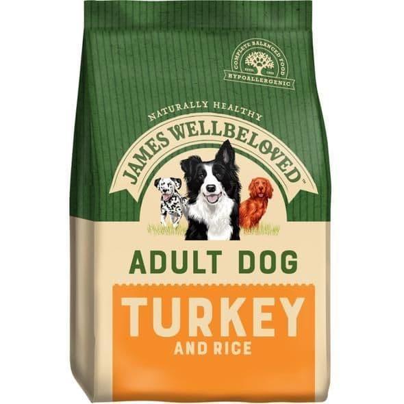 J/w adult turkey & rice